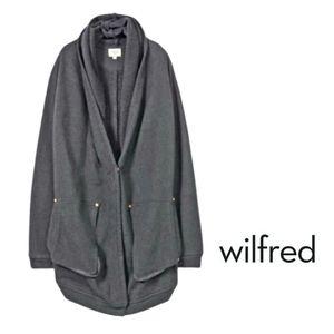 Aritzia WILFRED Rosseau Cocoon Sweater Cardigan …